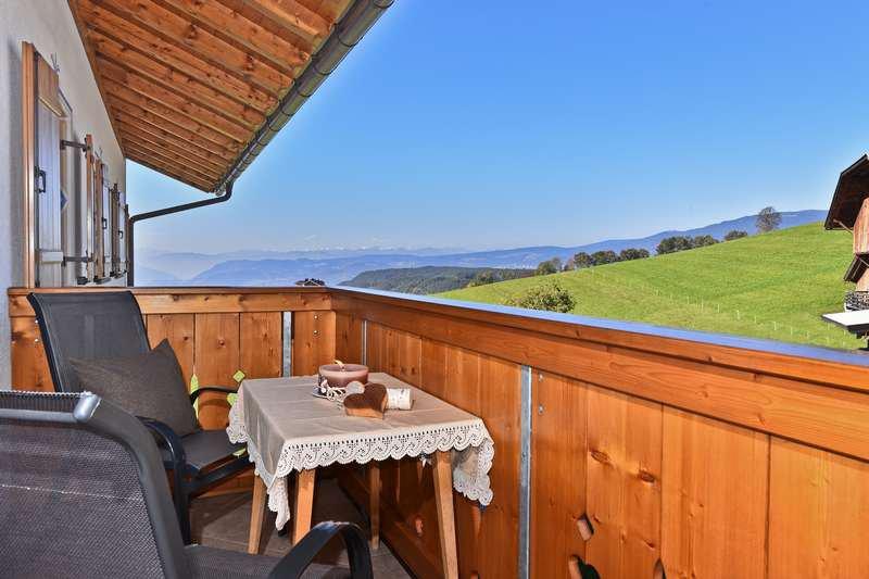 Ferienwohnung Edelweiss Balkon