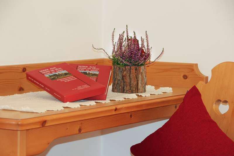 Ferienwohnung Edelweiss Schlafzimmer Detail
