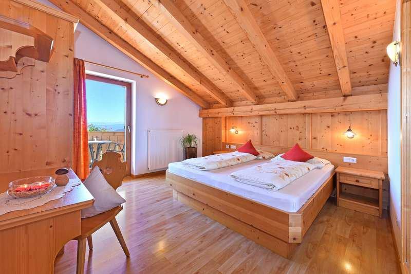 Ferienwohnung Nelke Schlafzimmer
