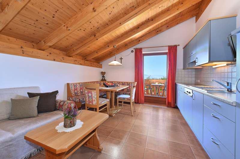 Ferienwohnung Nelke Wohnküche