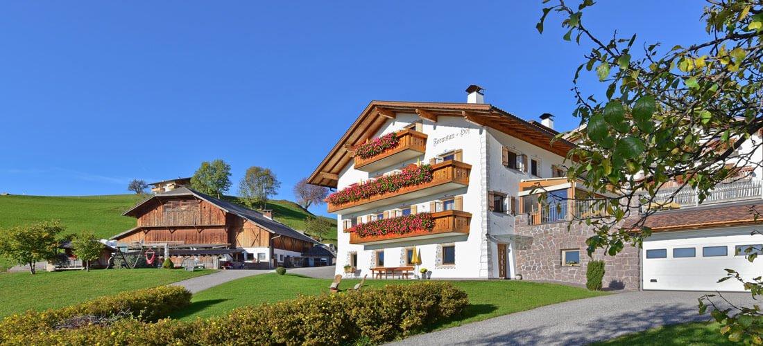 Urlaub auf dem Bauernhof Kastelruth - Ferien in den Dolomiten