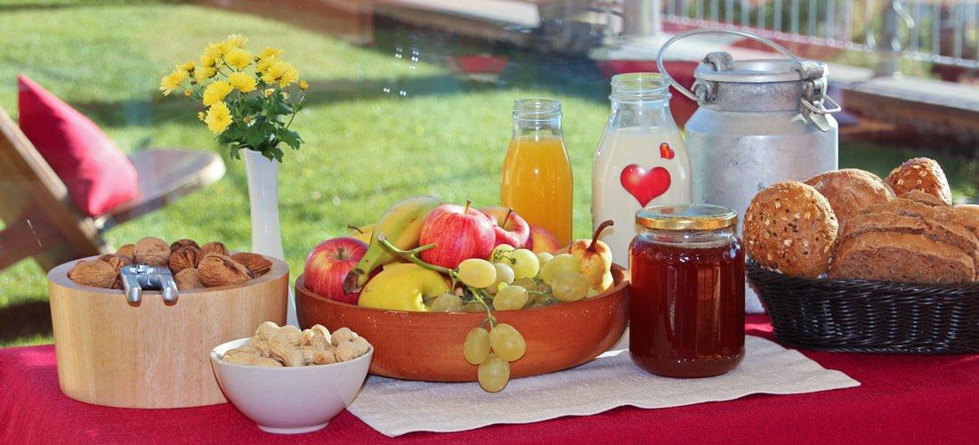 All'agriturismo Formsunhof ogni colazione diventa un banchetto