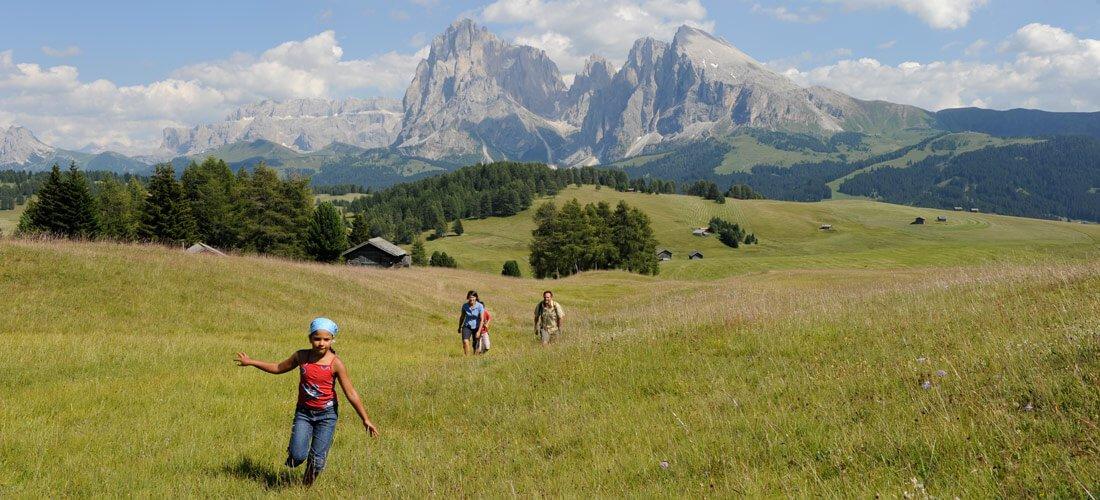 Vacanza escursionistica all'Alpe di Siusi