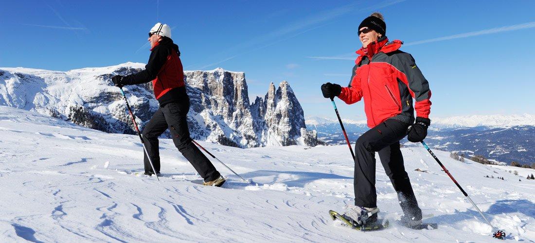 Winterurlaub Kastelruth / Seiser Alm - Skiferien Dolomiten